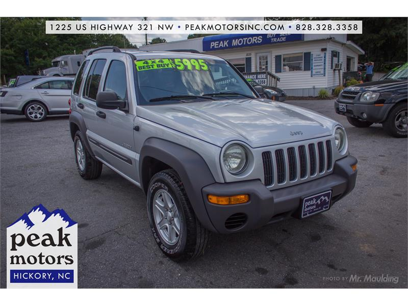 2004 Jeep Liberty Sport for sale!