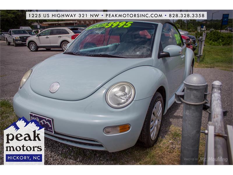 2005 Volkswagen New Beetle GL for sale!