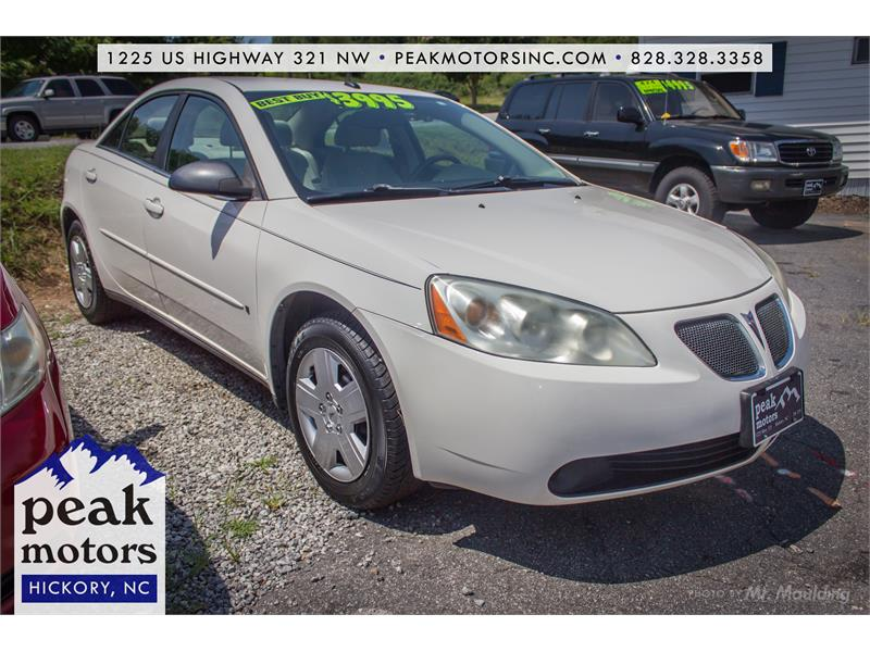 2008 Pontiac G6 for sale in Hickory