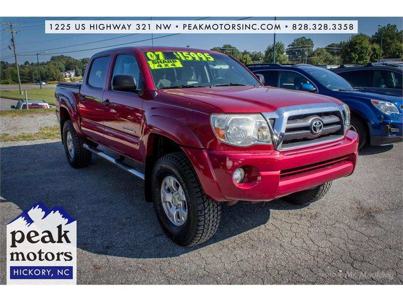 2007 Toyota Tacoma Double Cab for sale by dealer