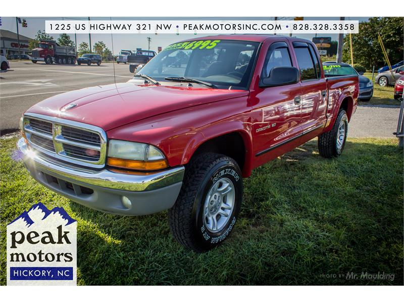Dodge Dakota SLT Quad Cab in Hickory