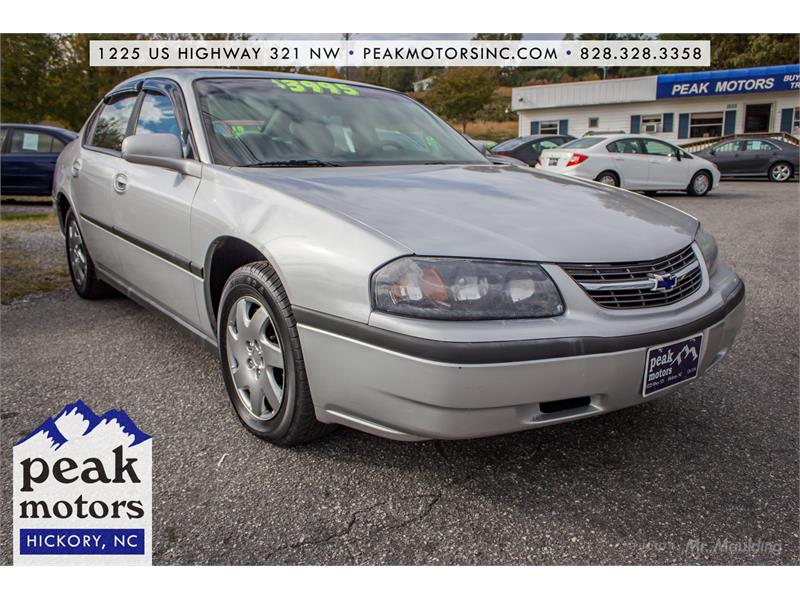 2002 Chevrolet Impala for sale by dealer