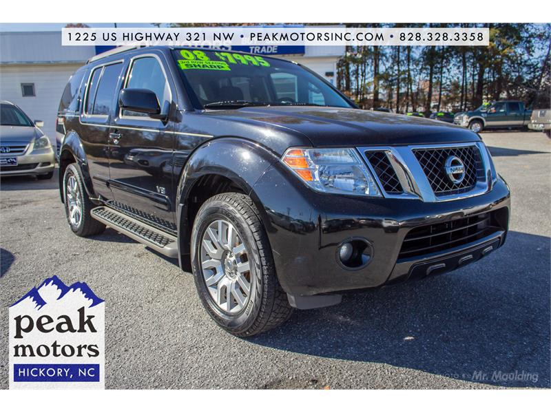 2008 Nissan Pathfinder S 2WD Hickory NC