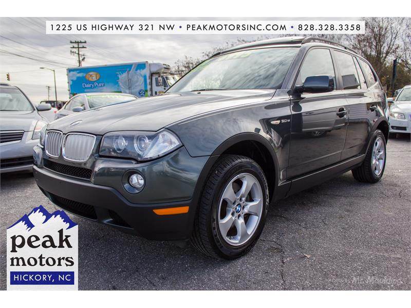 2008 BMW X3 3.0si for sale!