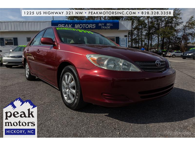 2002 Toyota Camry XLE Hickory NC