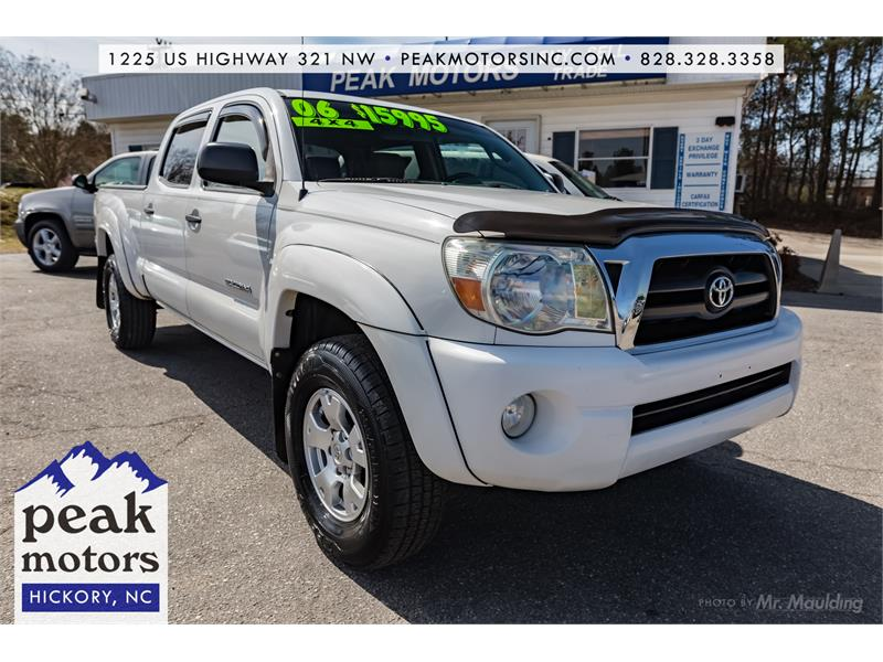 2006 Toyota Tacoma Double Cab Long Bed Hickory NC