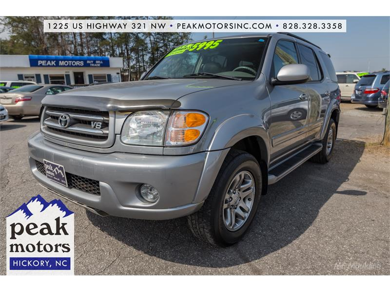 2004 Toyota Sequoia Limited for sale by dealer
