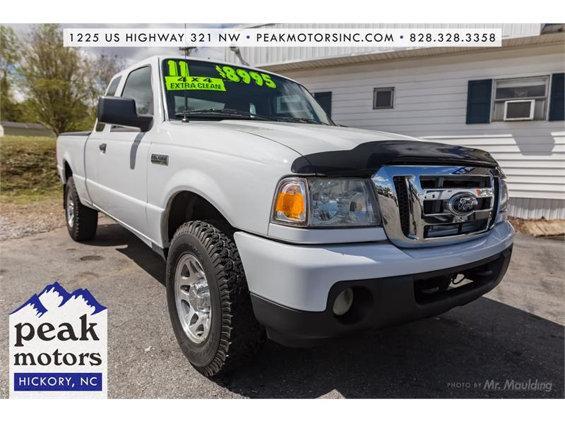 2011 Ford Ranger SuperCab 4x4 Hickory NC