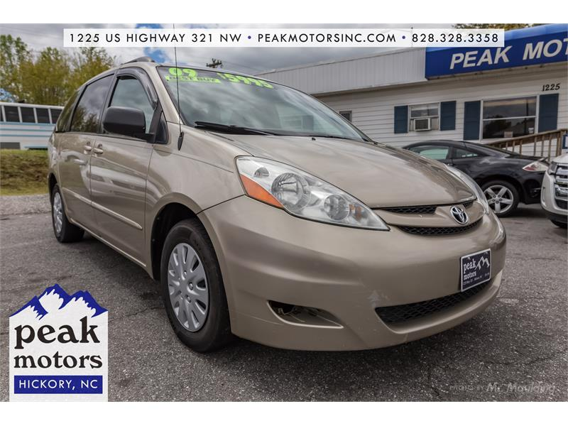 2009 Toyota Sienna LE Hickory NC