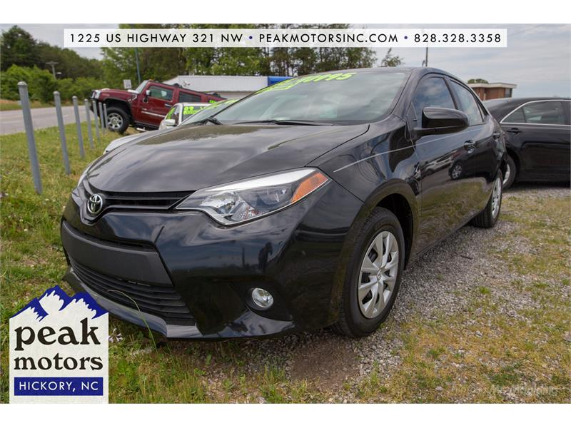 2015 Toyota Corolla LE for sale by dealer