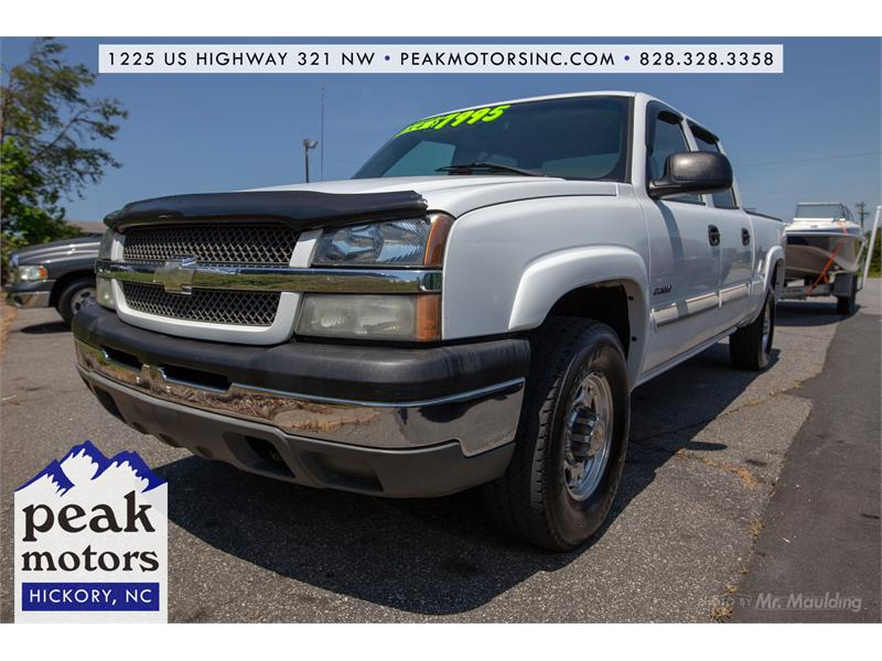 2004 Chevrolet Silverado K2500 for sale by dealer