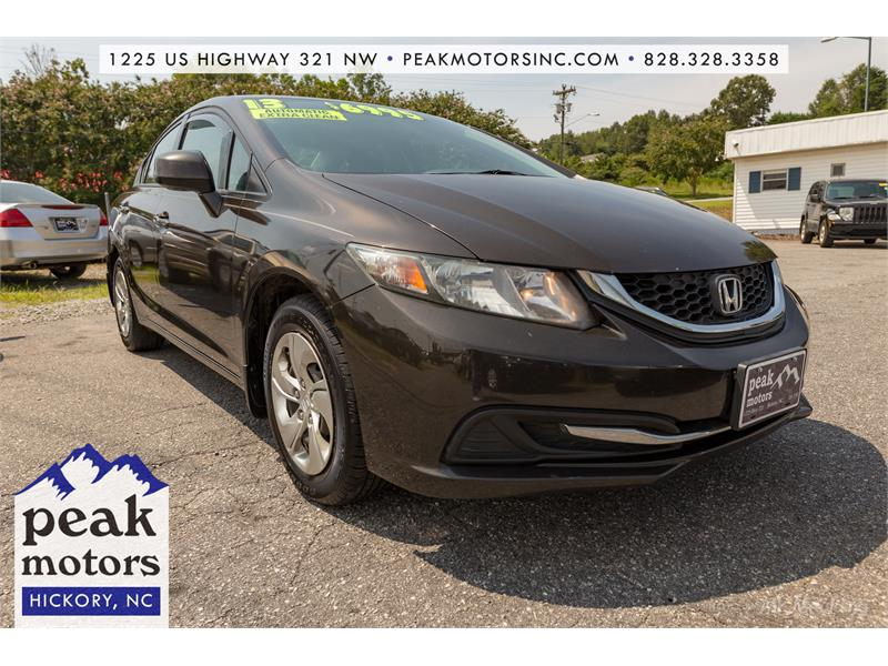 2013 Honda Civic LX for sale by dealer