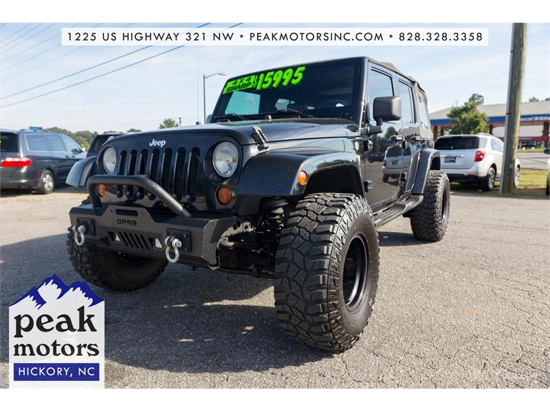 2007 Jeep Wrangler Sahara for sale by dealer