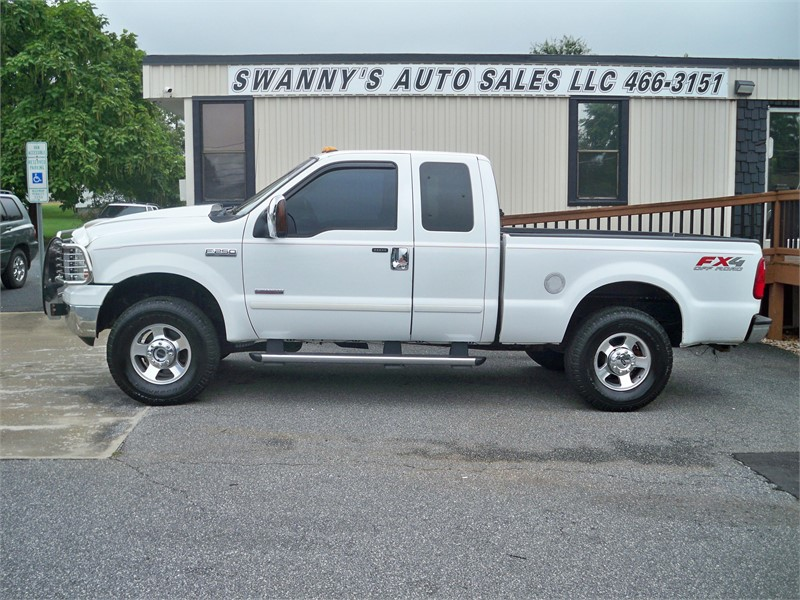 2005 FORD F250 SUPER DUTY for sale by dealer