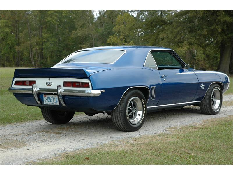 1969 Chevrolet Camaro Ss For Sale In Greenville