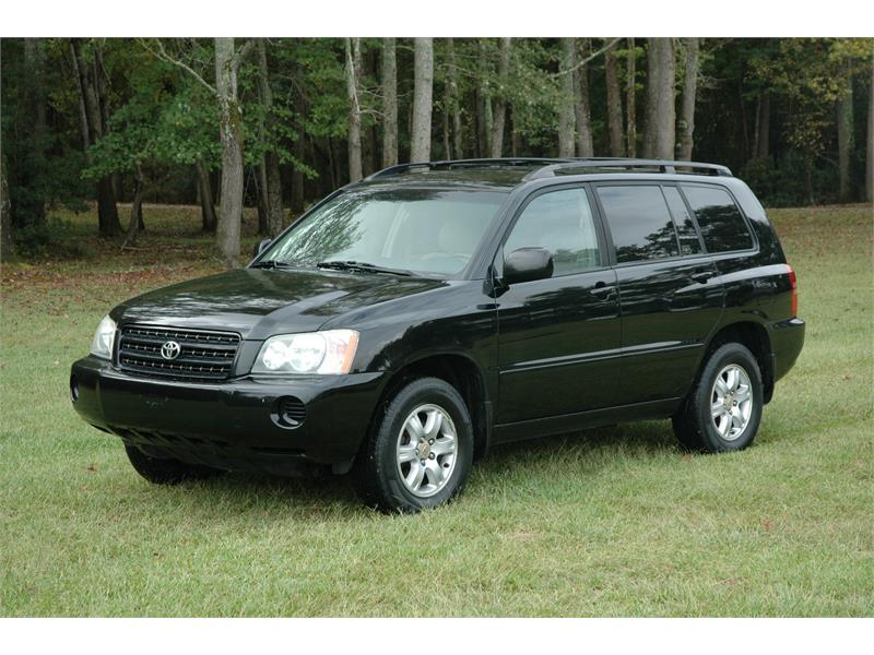 2003 Toyota Highlander 4WD for sale in Greenville