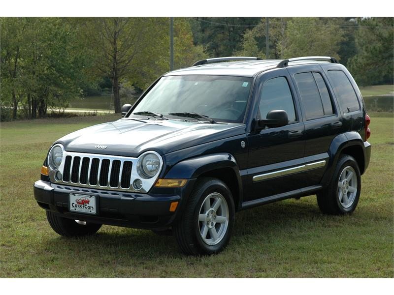 2007 Jeep Liberty Limited 4WD for sale in Greenville