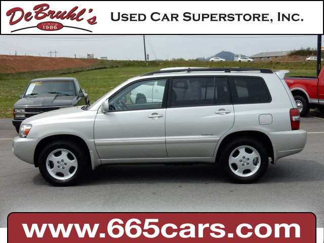 2006 Toyota Highlander Limited for sale by dealer