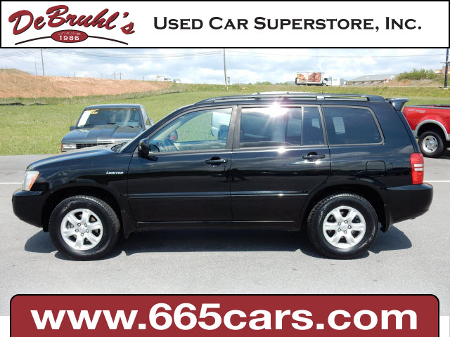 2003 Toyota Highlander Limited for sale by dealer