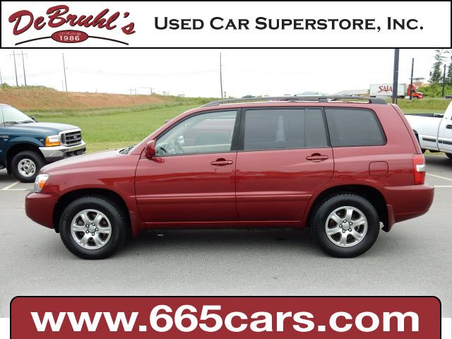 2005 Toyota Highlander for sale by dealer
