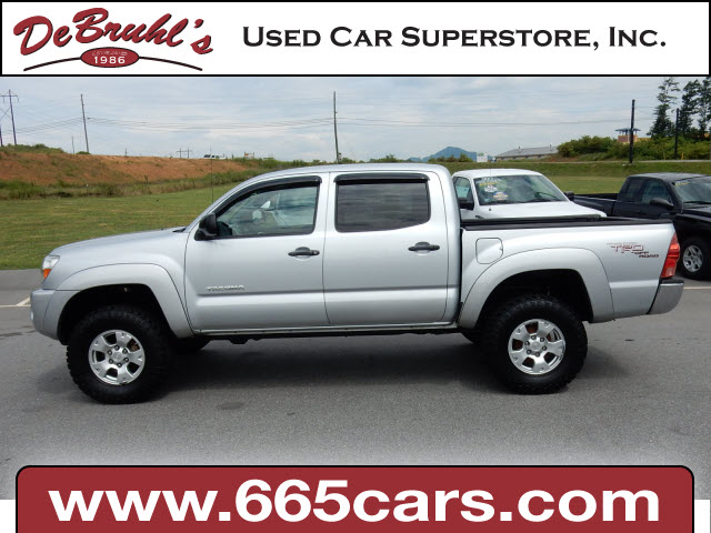2007 toyota tacoma v6 for sale in asheville. Black Bedroom Furniture Sets. Home Design Ideas