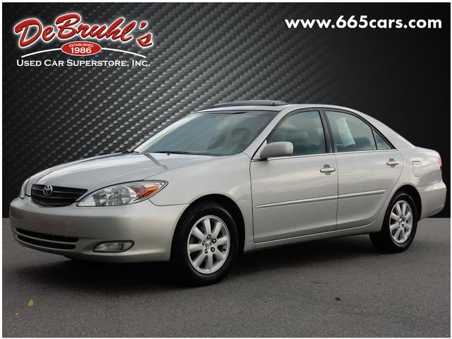 2003 Toyota Camry XLE for sale by dealer