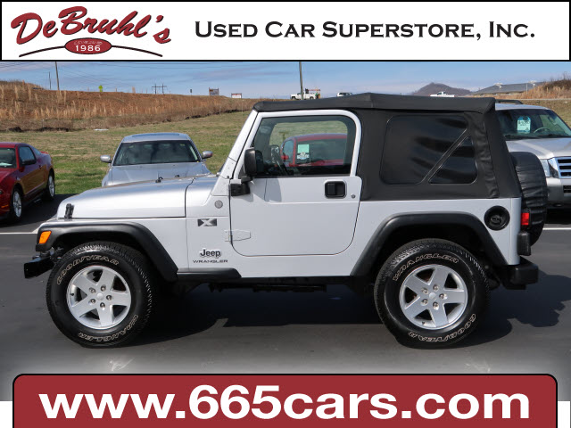 2004 Jeep Wrangler X for sale by dealer