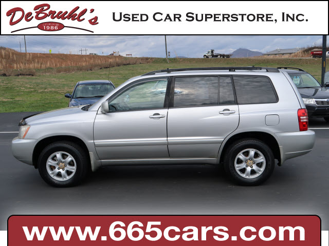 2002 Toyota Highlander Base for sale by dealer