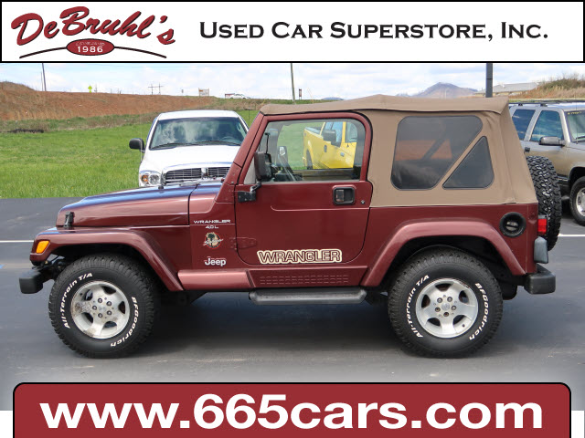 2001 Jeep Wrangler Sahara for sale by dealer