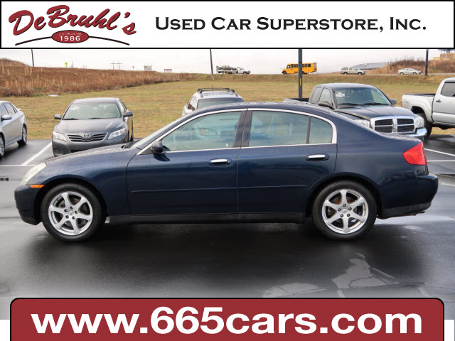 2004 INFINITI G35 Base for sale by dealer