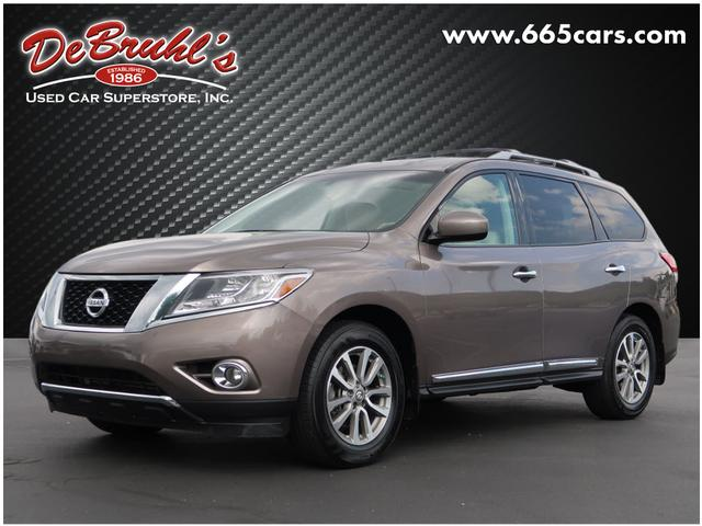 2013 Nissan Pathfinder SL for sale by dealer