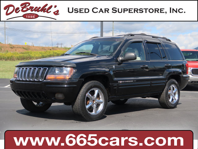 2001 Jeep Grand Cherokee Limited for sale by dealer