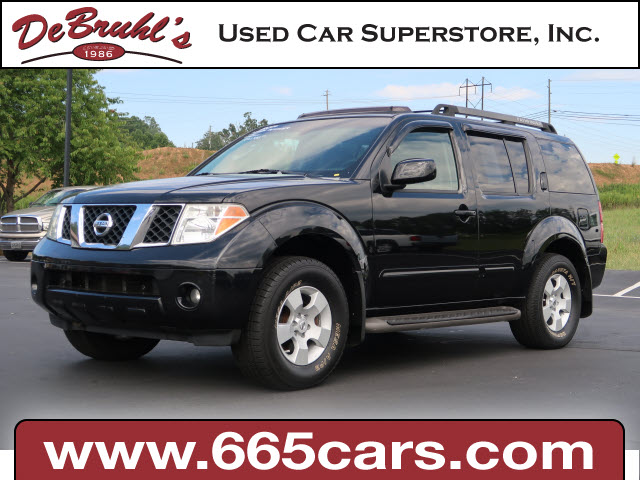 2006 Nissan Pathfinder SE for sale by dealer