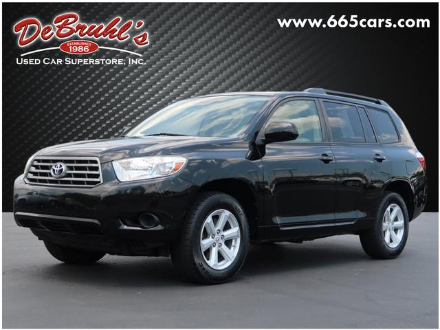 2009 Toyota Highlander AWD for sale by dealer