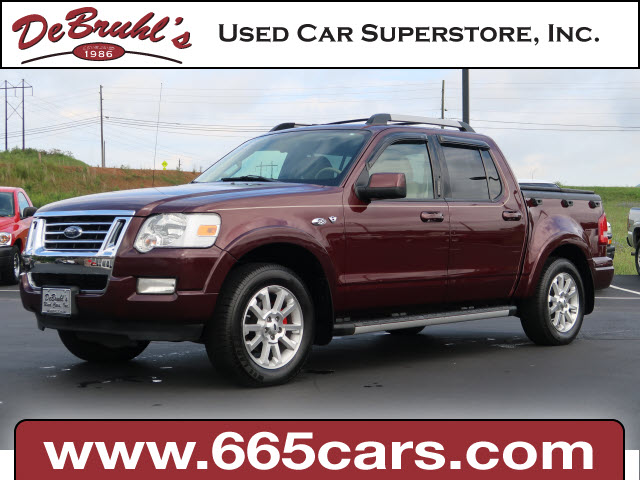 2007 Ford Explorer Sport Trac Limited for sale by dealer