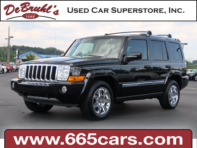 2010 Jeep Commander Limited for sale by dealer