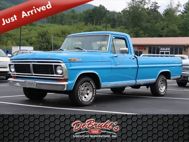 1971 ford f100 for sale in asheville. Black Bedroom Furniture Sets. Home Design Ideas