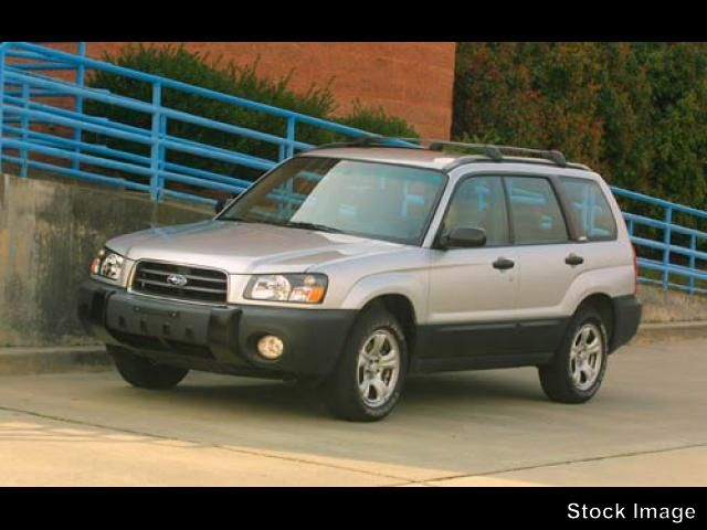 2003 Subaru Forester X for sale by dealer