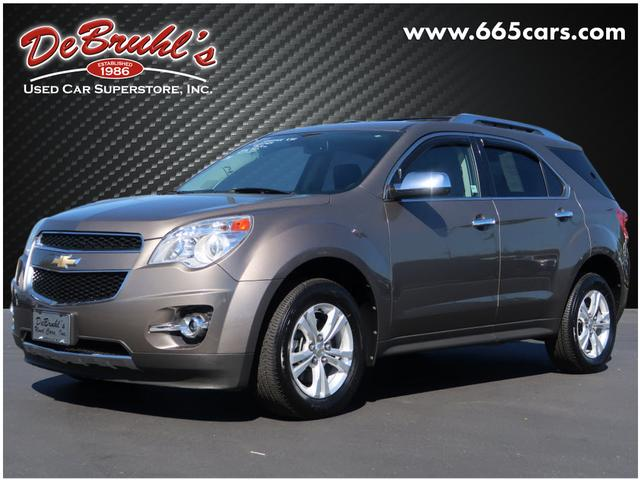 2011 Chevrolet Equinox LTZ for sale by dealer