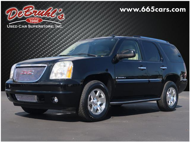 2007 gmc yukon denali for sale in asheville. Black Bedroom Furniture Sets. Home Design Ideas