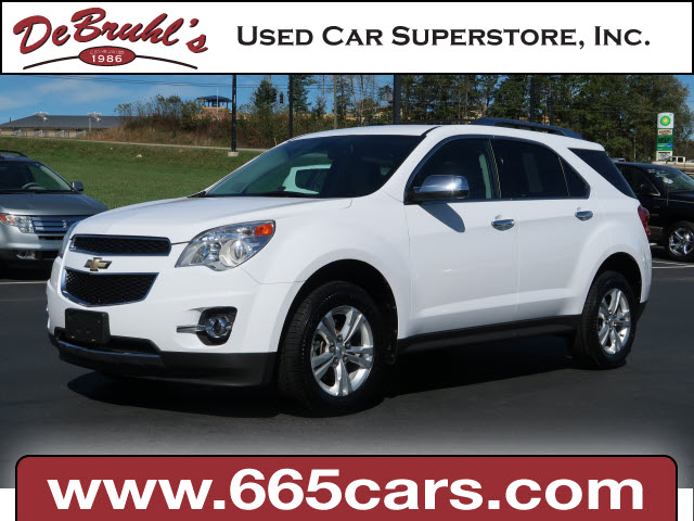 2010 Chevrolet Equinox LTZ for sale by dealer
