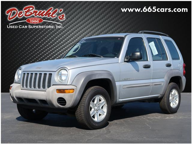 2002 Jeep Liberty Sport for sale by dealer