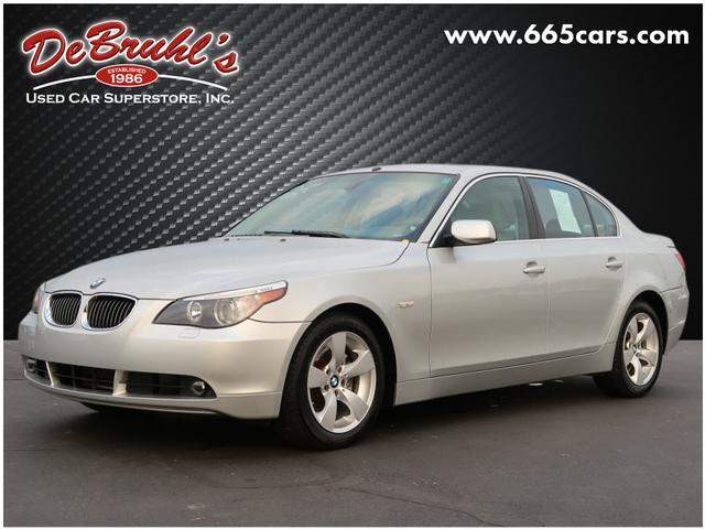 2007 bmw 5 series 530i for sale in asheville. Black Bedroom Furniture Sets. Home Design Ideas