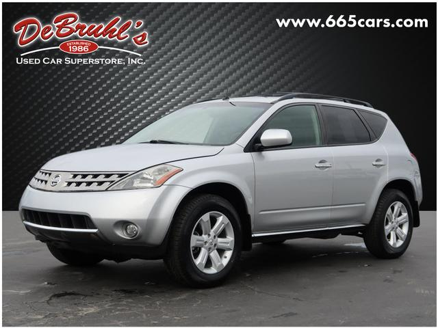 2007 Nissan Murano SL for sale by dealer