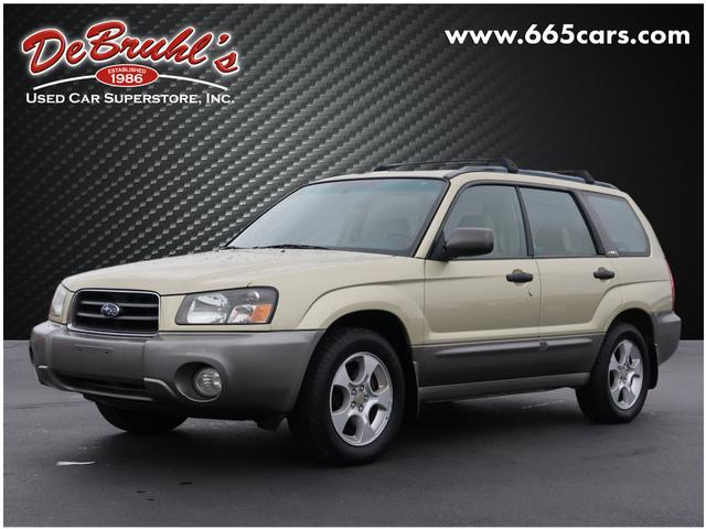 2003 Subaru Forester XS for sale by dealer