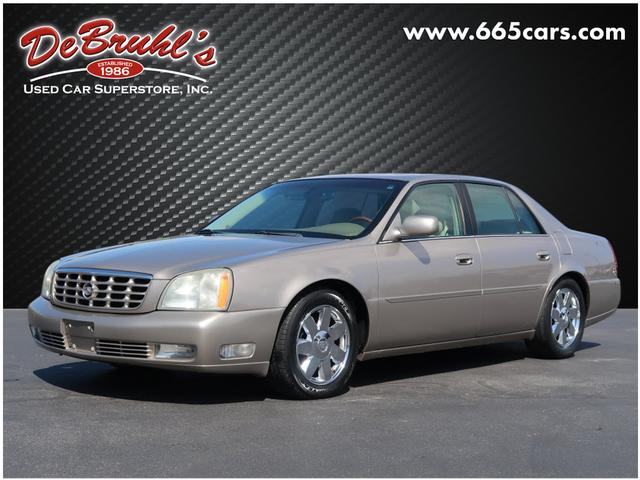 2004 Cadillac DeVille DTS for sale by dealer