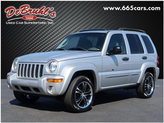 2003 Jeep Liberty Limited for sale by dealer