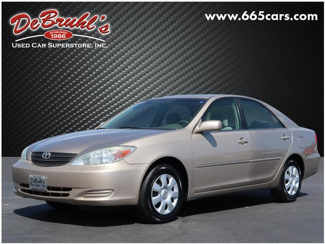 2004 Toyota Camry LE for sale by dealer