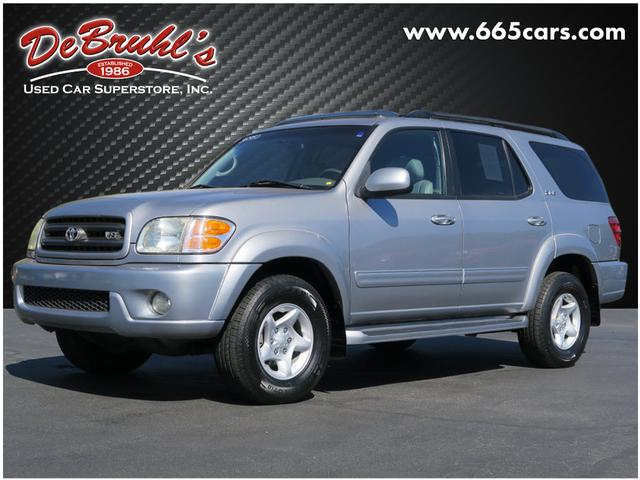 2002 Toyota Sequoia SR5 for sale by dealer