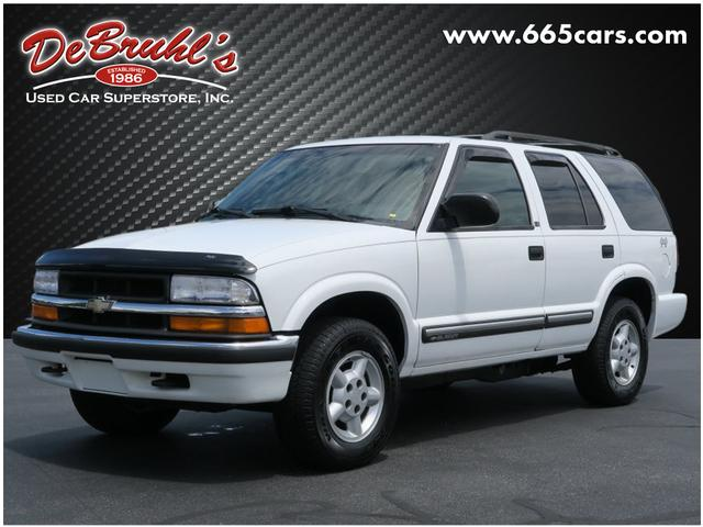 2000 Chevrolet Blazer for sale by dealer